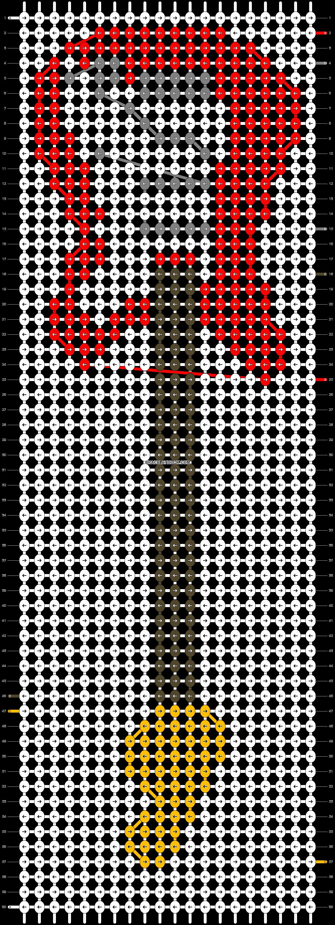 Alpha pattern #8287 pattern