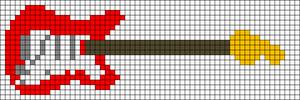 Alpha pattern #8287