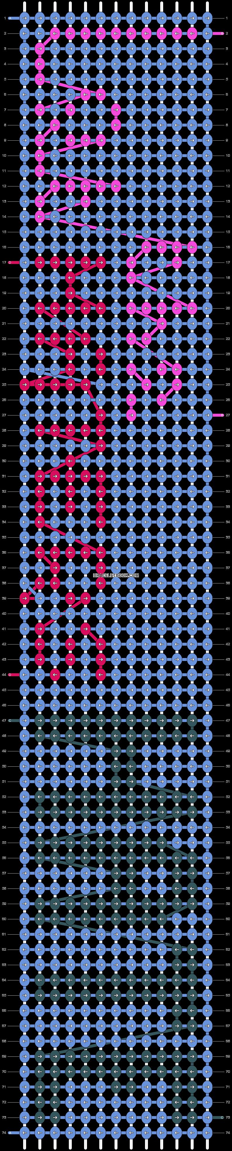 Alpha pattern #8291 pattern