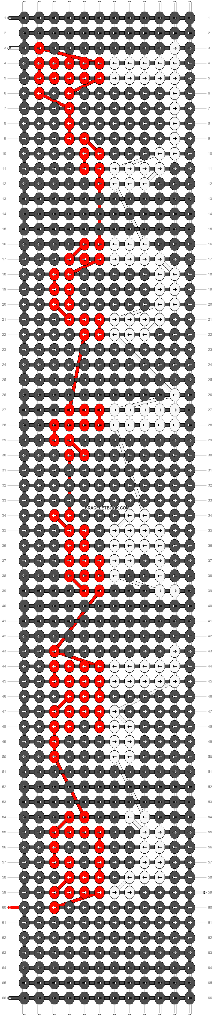 Alpha pattern #8295 pattern