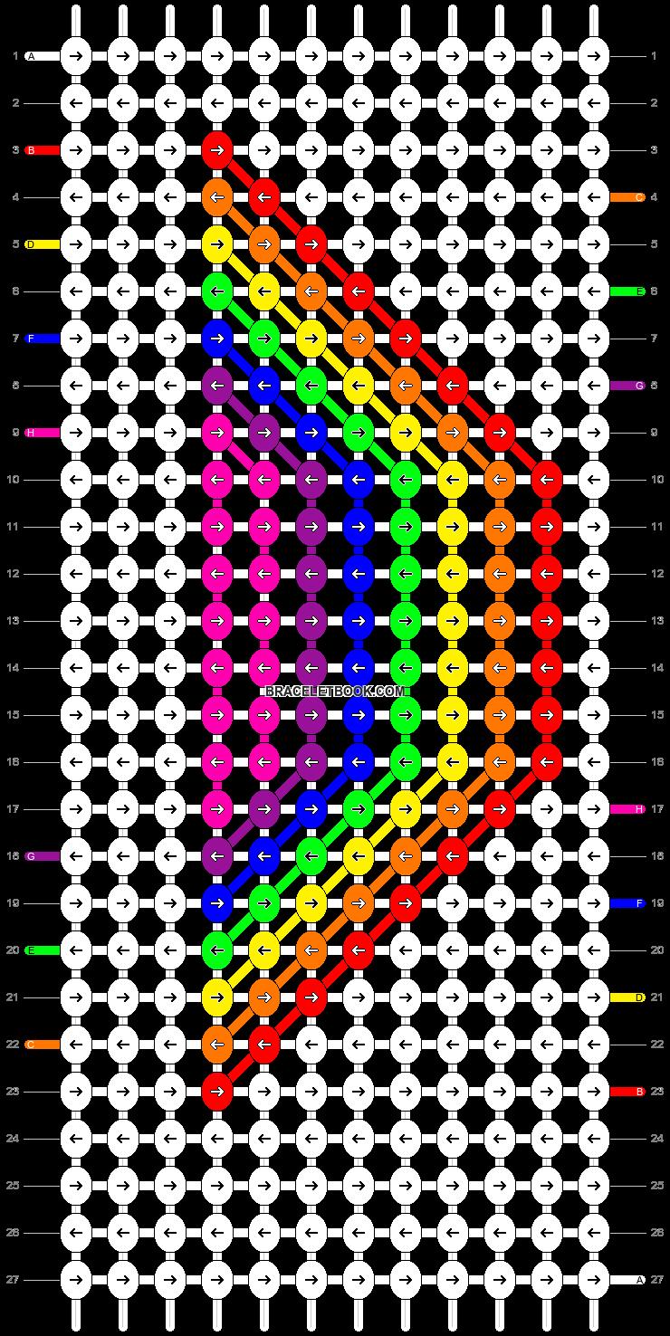 Alpha pattern #8299 pattern