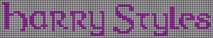 Alpha Friendship Bracelet Pattern #8319