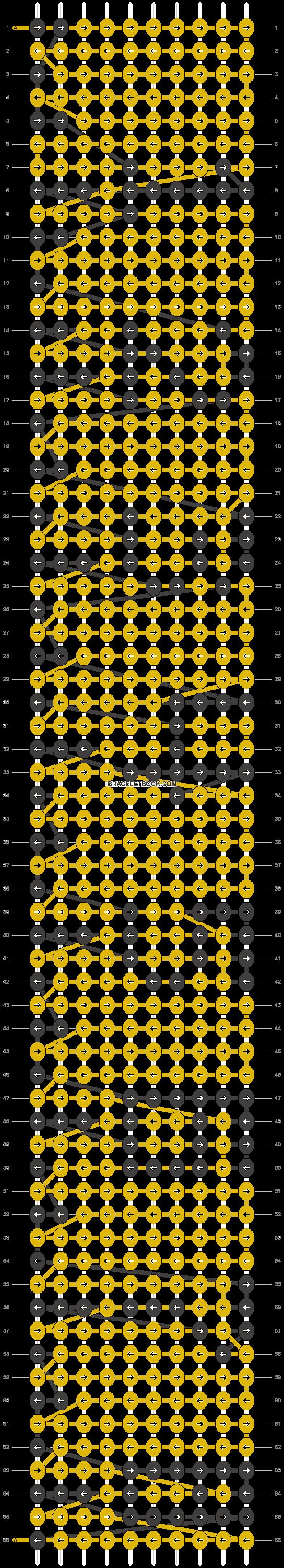 Alpha pattern #8325 pattern