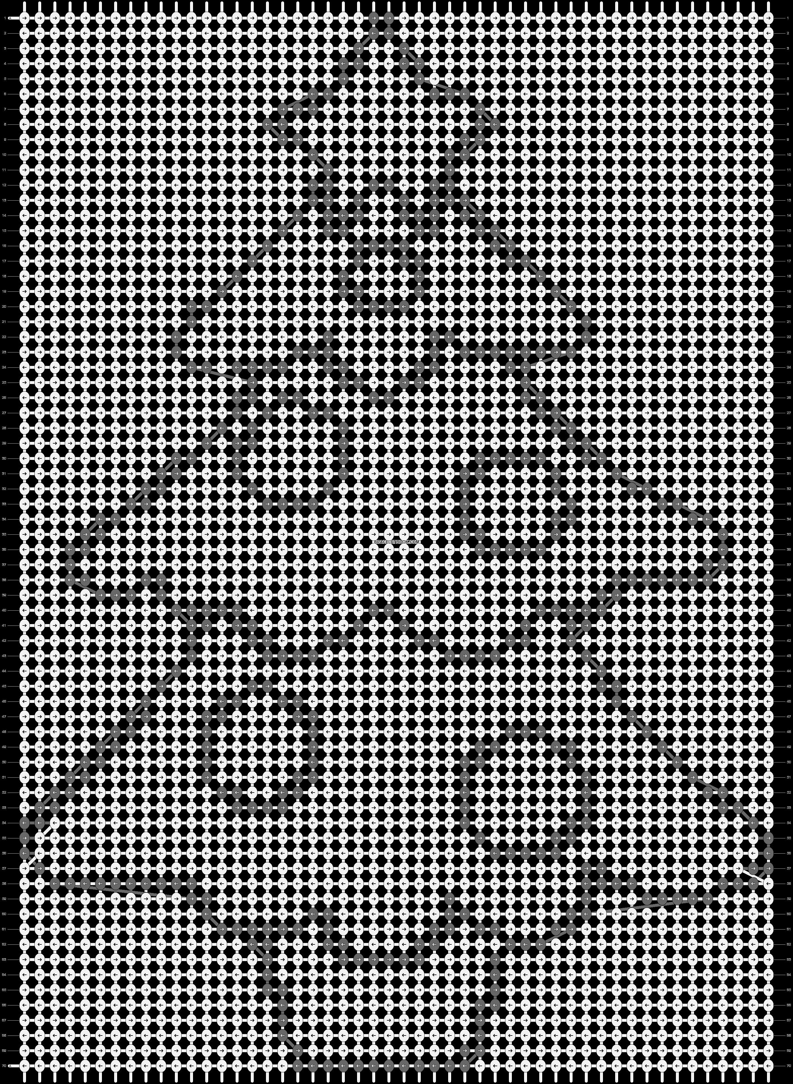 Alpha pattern #8326 pattern