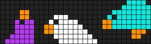 Alpha Friendship Bracelet Pattern #8327