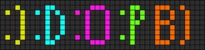 Alpha Friendship Bracelet Pattern #8330