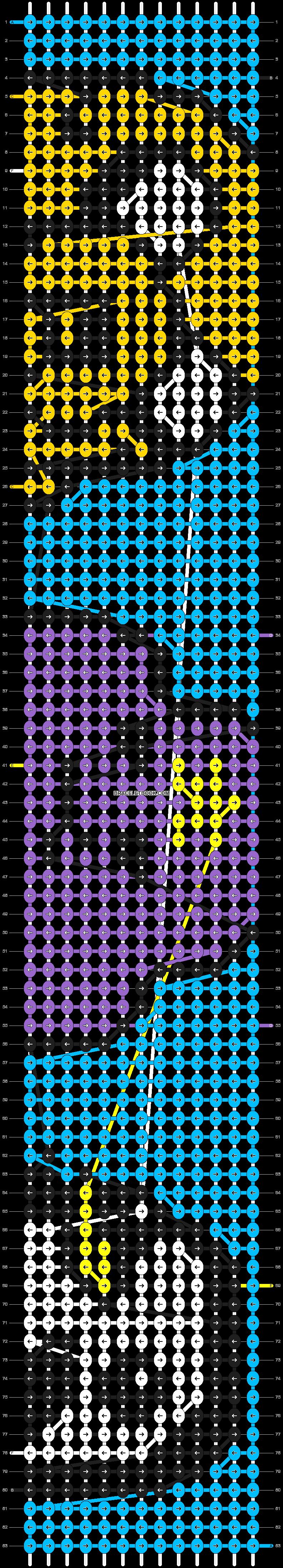 Alpha pattern #8347 pattern