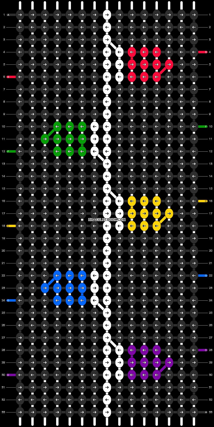 Alpha pattern #8349 pattern