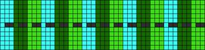 Alpha Friendship Bracelet Pattern #8350