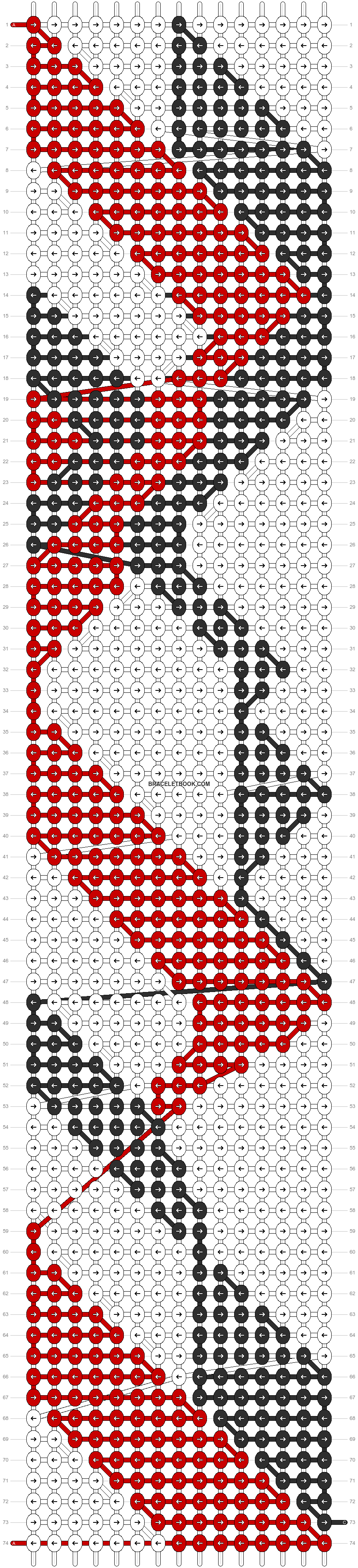 Alpha pattern #8356 pattern