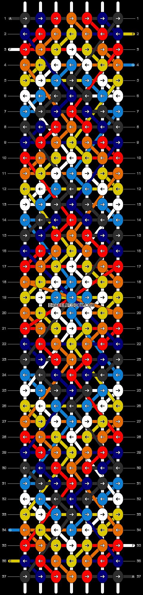 Alpha pattern #8367 pattern