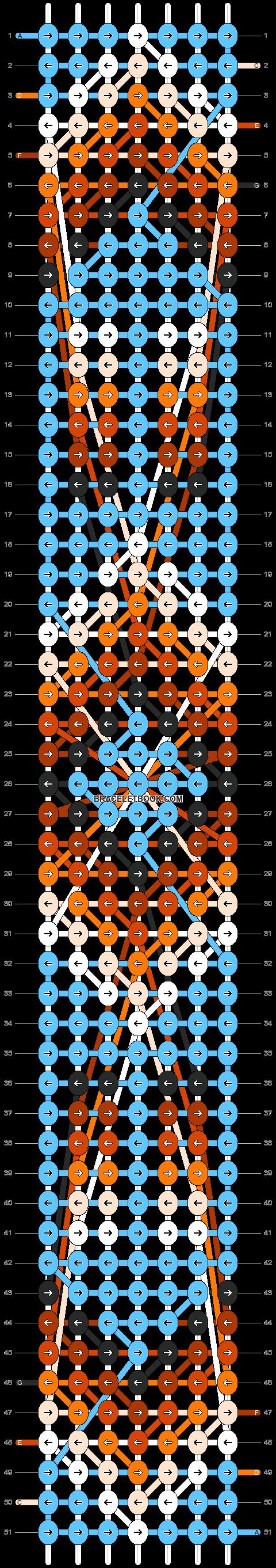 Alpha pattern #8368 pattern
