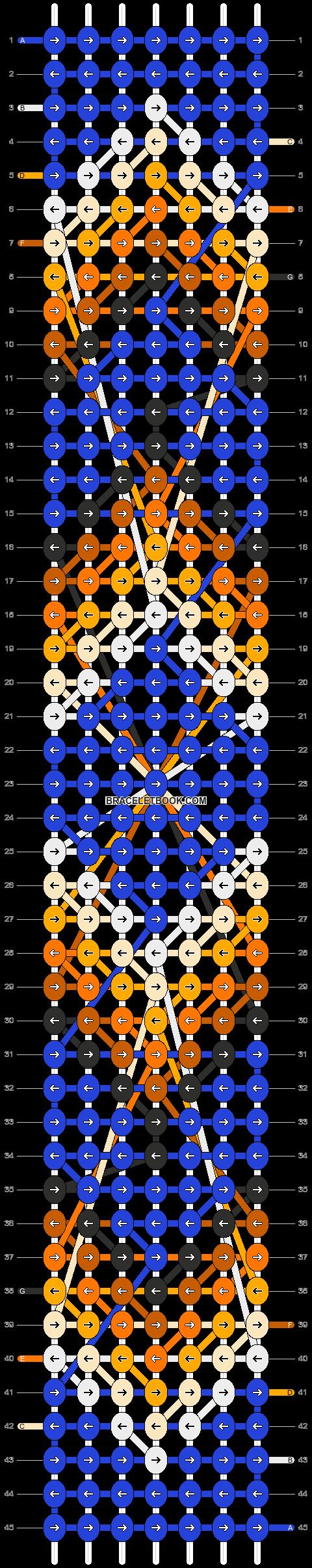Alpha pattern #8369 pattern