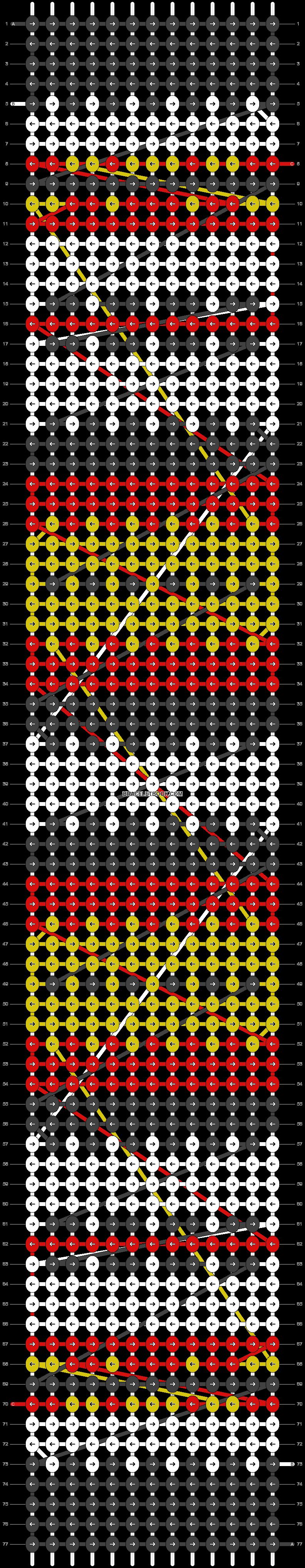 Alpha pattern #8370 pattern