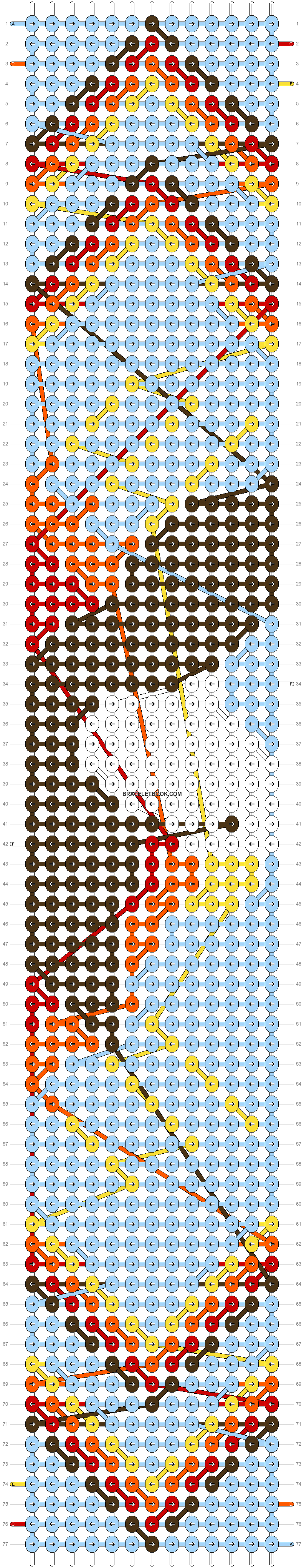Alpha pattern #8372 pattern