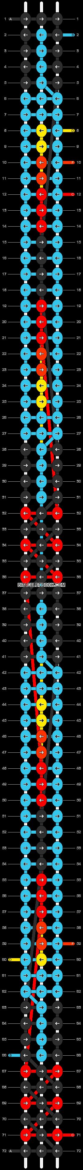 Alpha pattern #8373 pattern