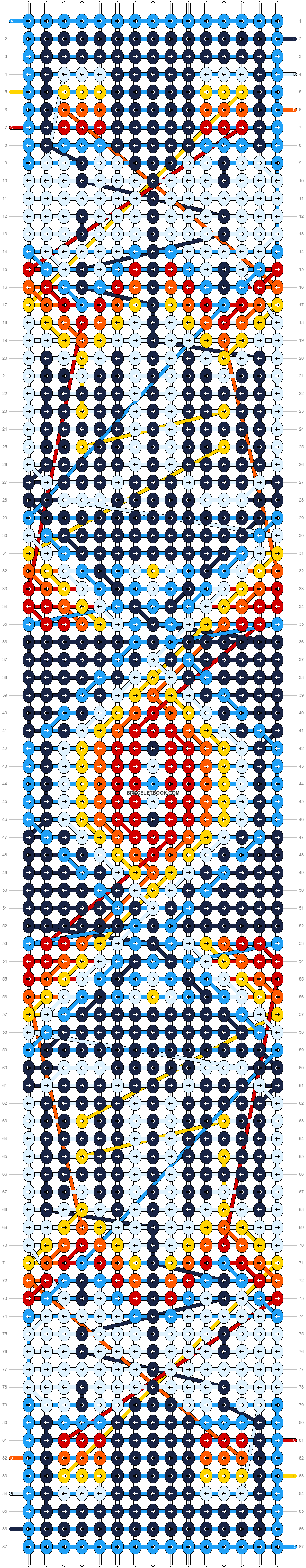 Alpha pattern #8374 pattern