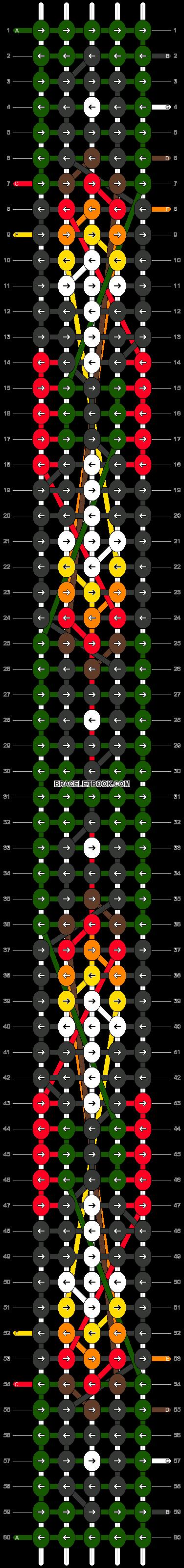 Alpha pattern #8375 pattern