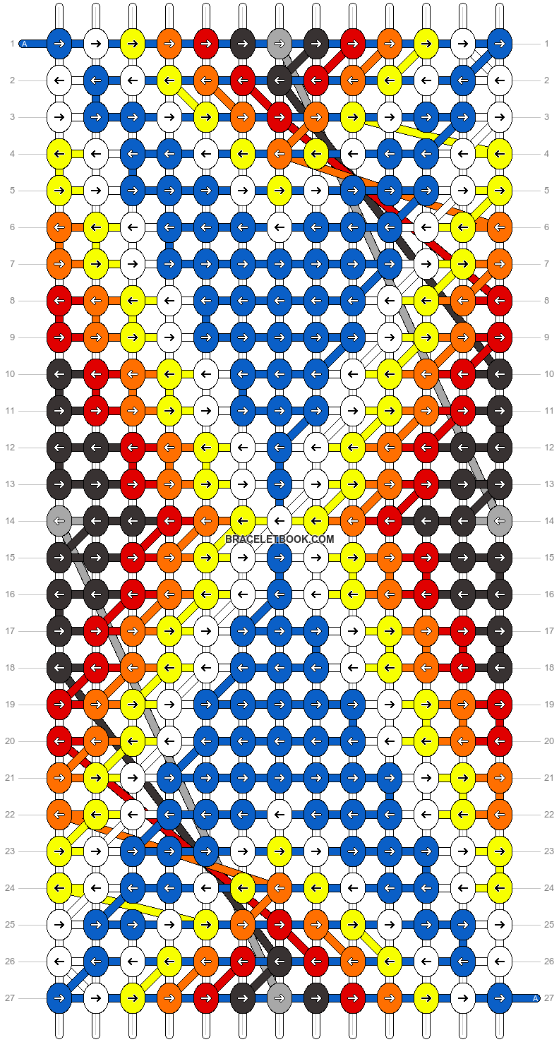 Alpha pattern #8376 pattern