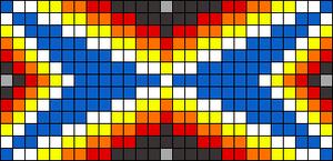Alpha pattern #8376