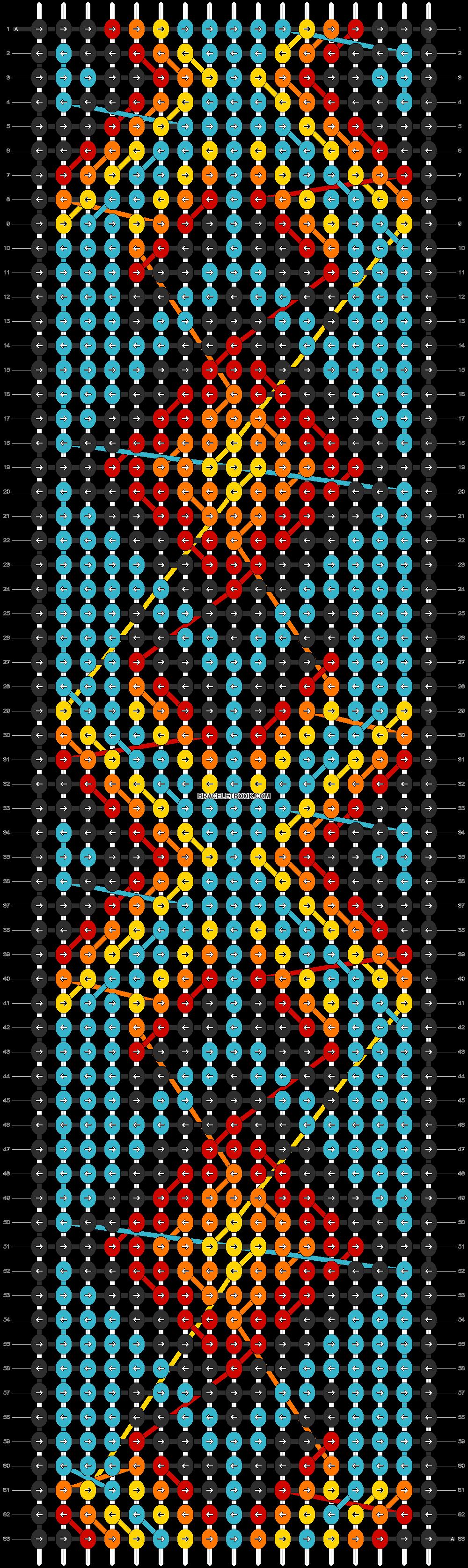 Alpha pattern #8380 pattern