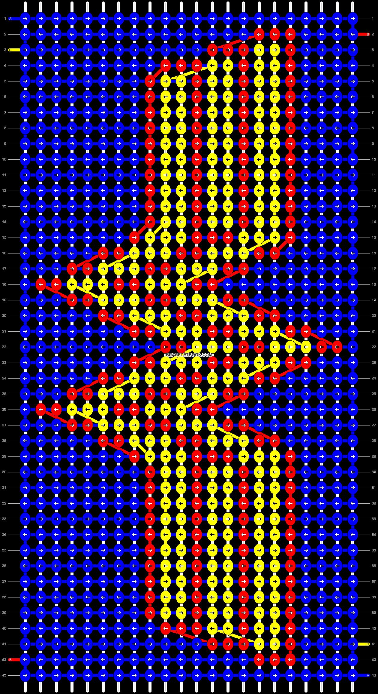 Alpha pattern #8381 pattern