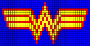 Alpha Friendship Bracelet Pattern #8381