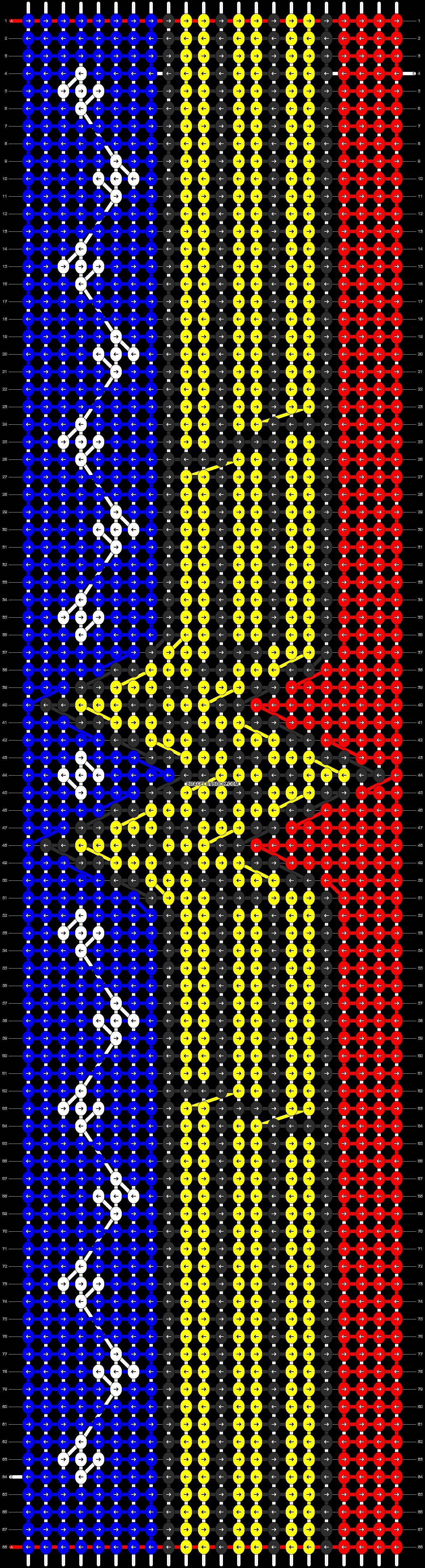 Alpha pattern #8382 pattern