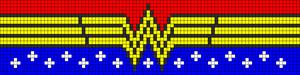 Alpha Friendship Bracelet Pattern #8382