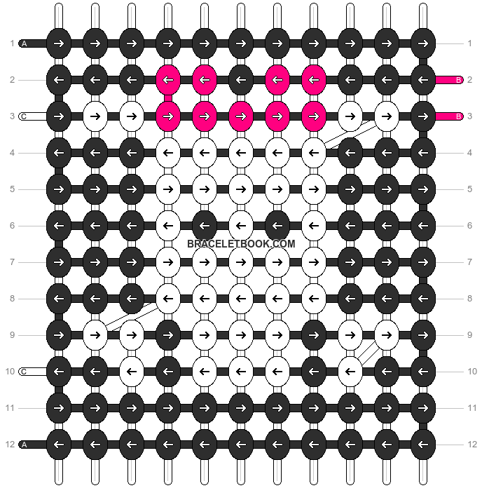 Alpha pattern #8393 pattern
