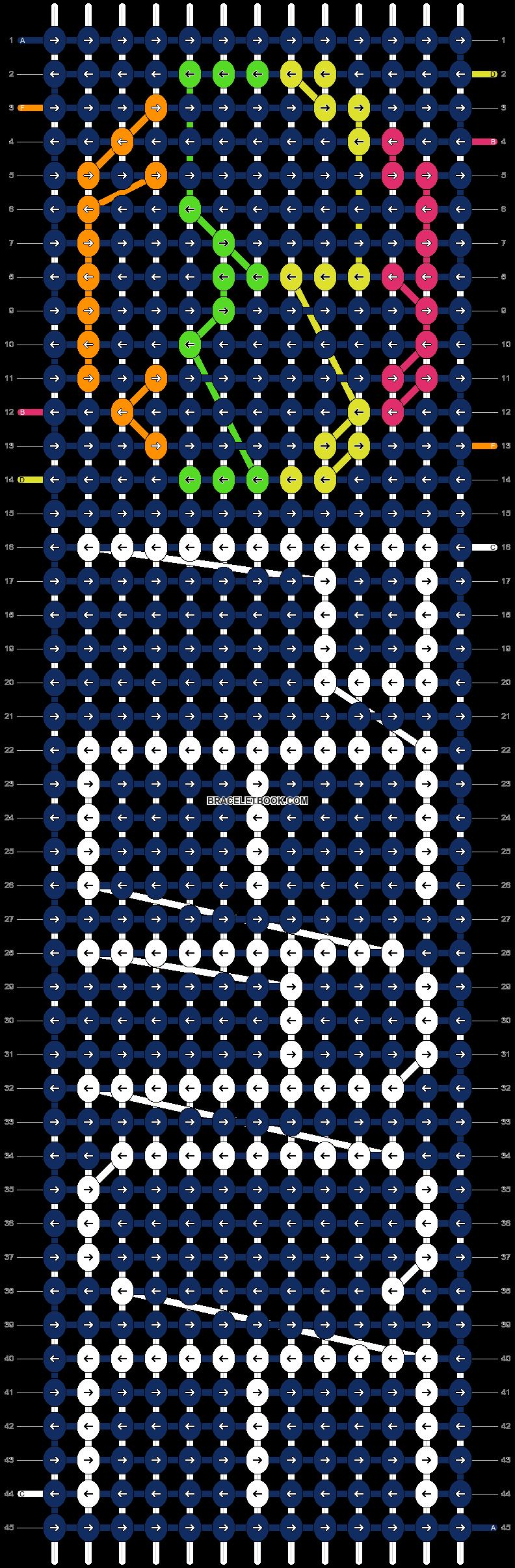 Alpha pattern #8409 pattern