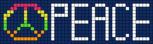 Alpha pattern #8409