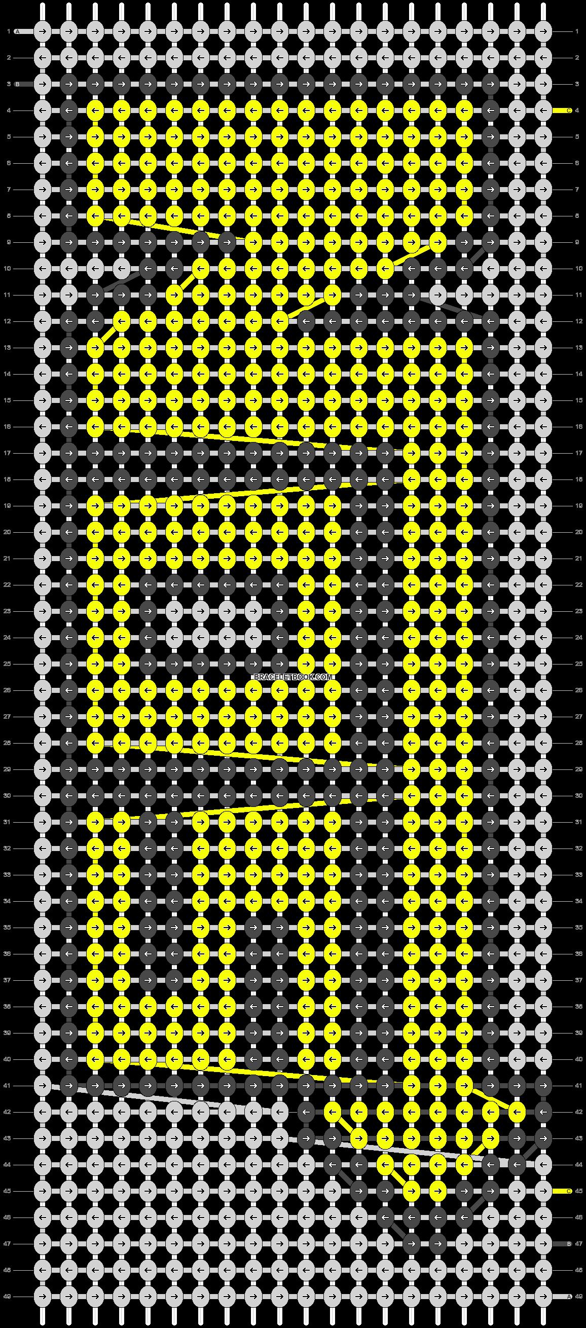Alpha pattern #8410 pattern