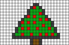 Alpha pattern #8411