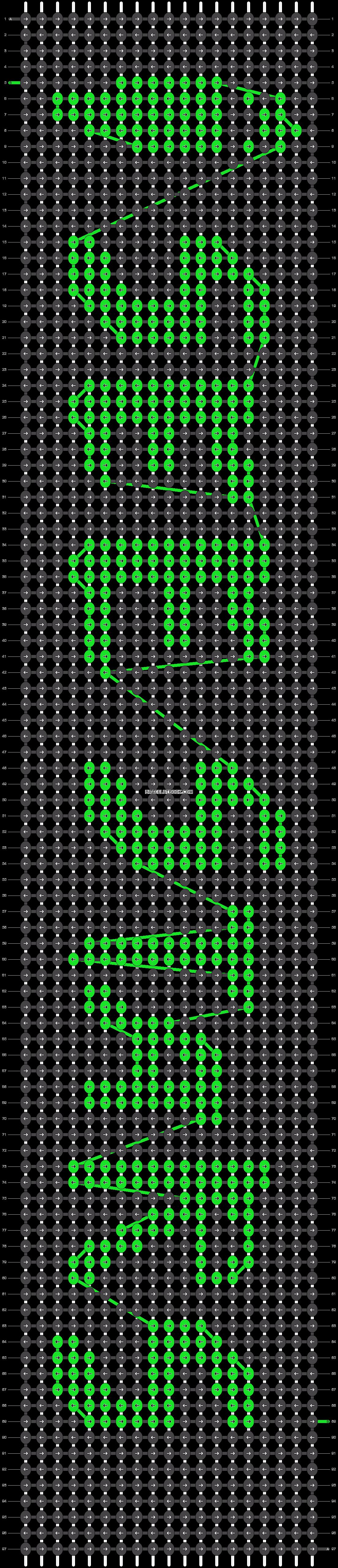 Alpha pattern #8431 pattern