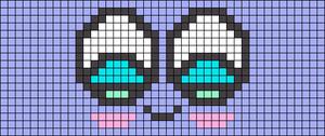 Alpha Friendship Bracelet Pattern #8433