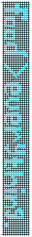 Alpha pattern #8434 pattern