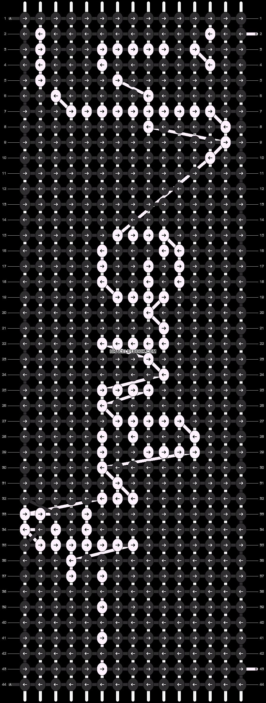 Alpha pattern #8465 pattern
