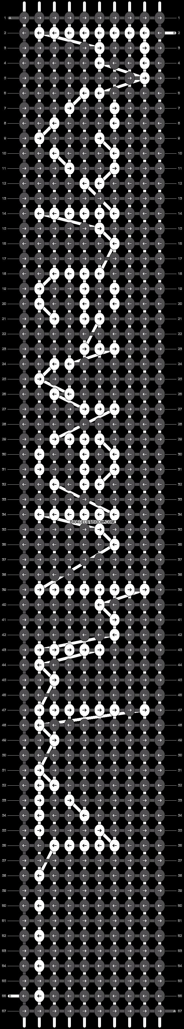 Alpha pattern #8466 pattern