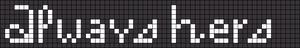 Alpha pattern #8467