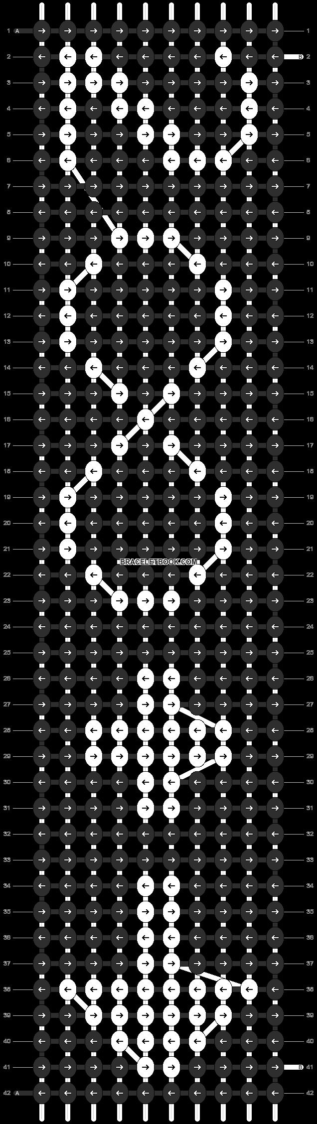 Alpha pattern #8469 pattern