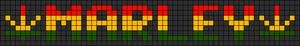 Alpha pattern #8473