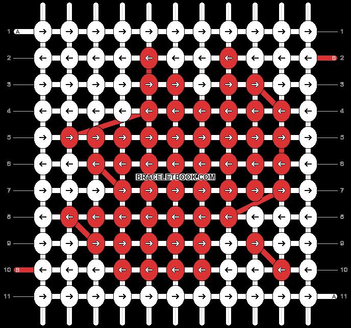 Alpha pattern #8476 pattern