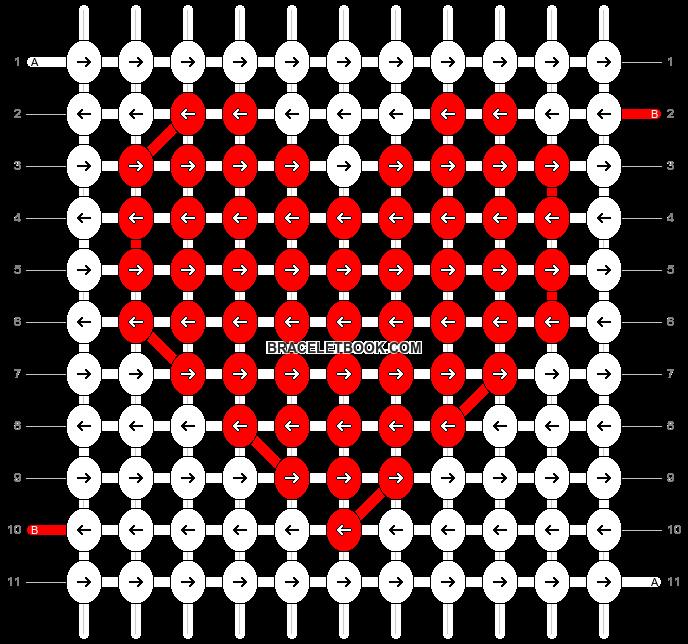 Alpha pattern #8477 pattern