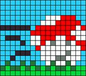 Alpha pattern #8480