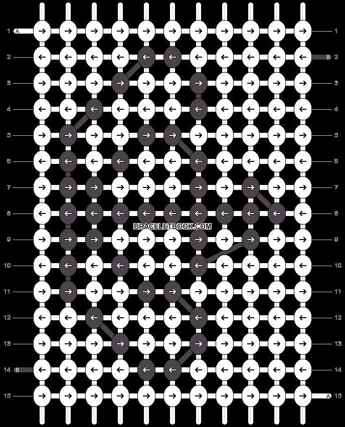 Alpha pattern #8485 pattern