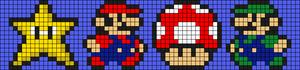 Alpha pattern #8487