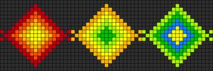 Alpha Friendship Bracelet Pattern #8489