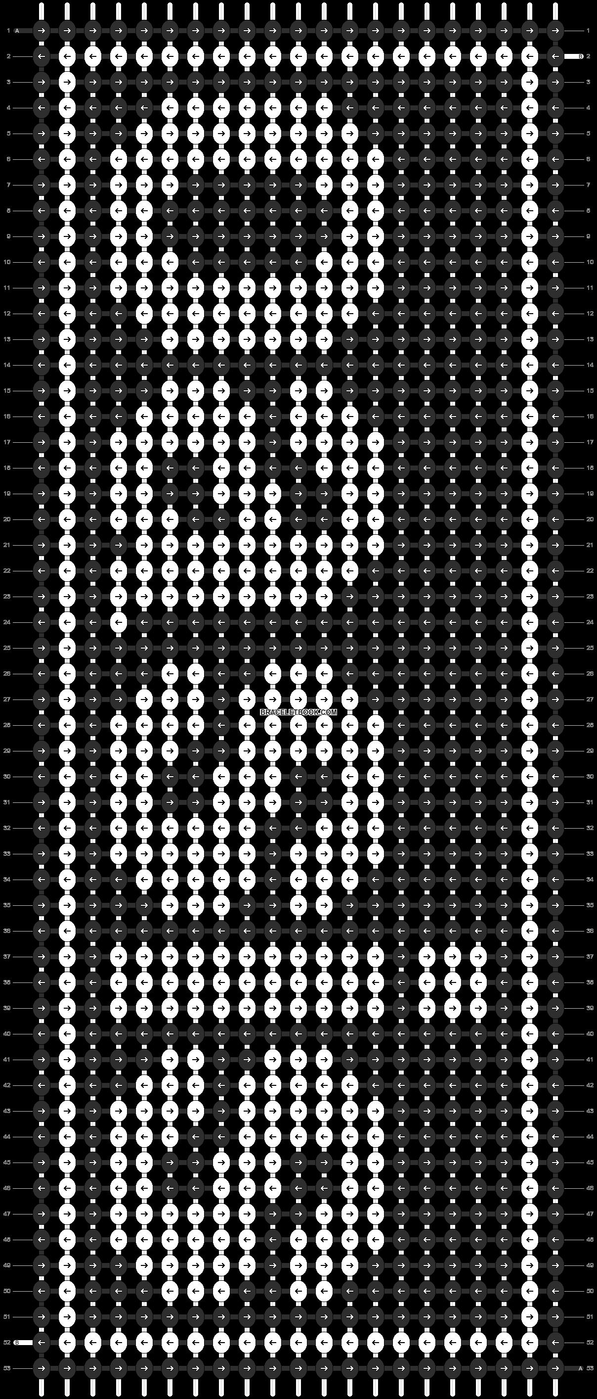 Alpha pattern #8503 pattern