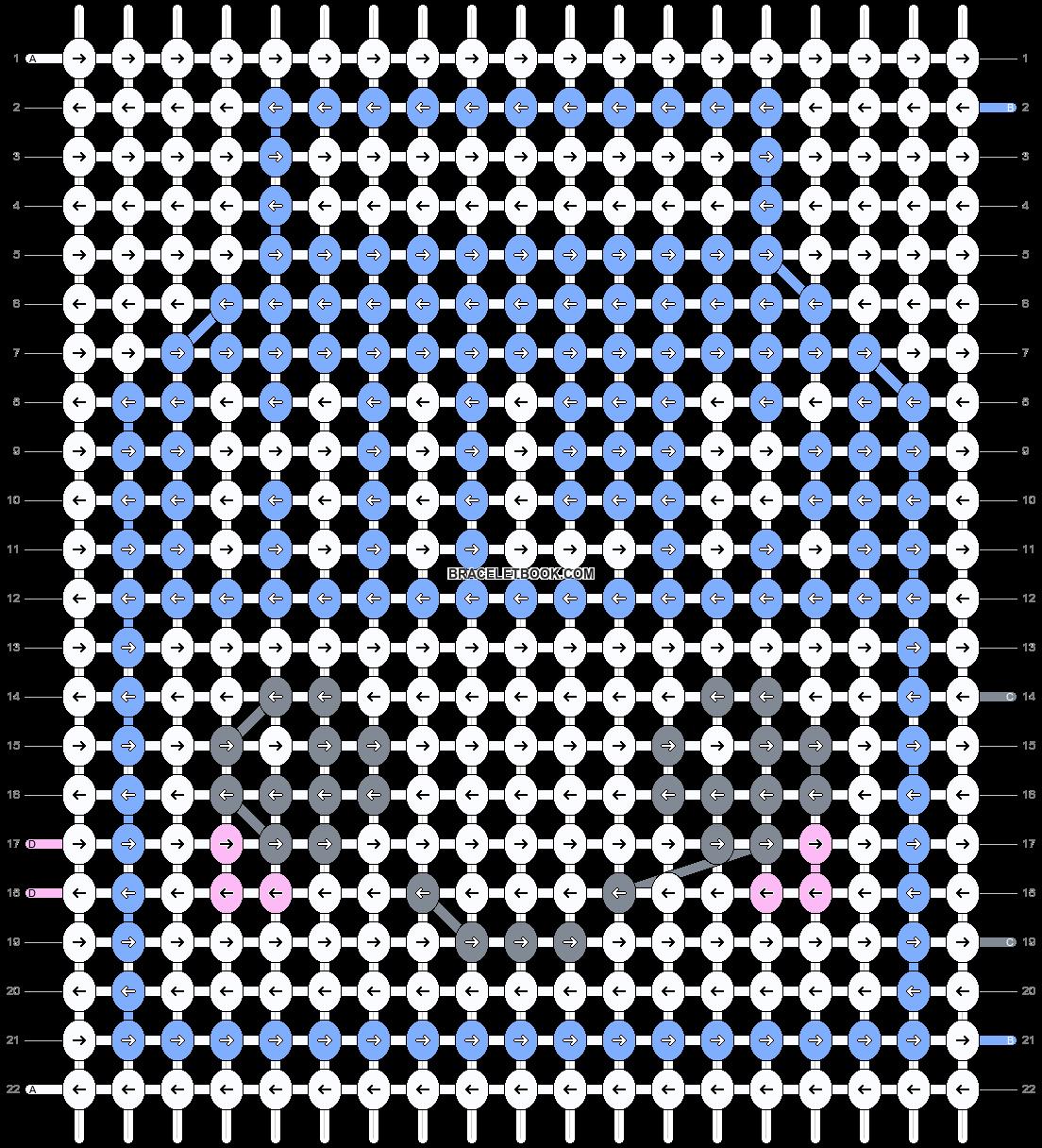 Alpha pattern #8510 pattern